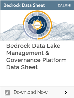 Bedrock Data Lake Management & Governance Platform Data Sheet