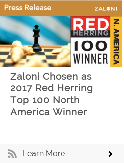 Zaloni Chosen as 2017 Red Herring Top 100 North America Winner