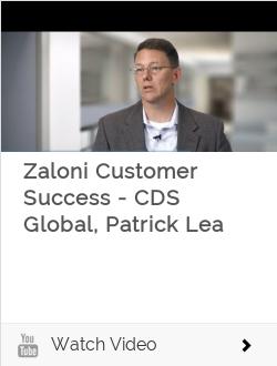Zaloni Customer Success - CDS Global, Patrick Lea