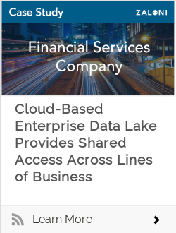 Cloud-Based Enterprise Data Lake Provides Shared Access Across Lines of Business
