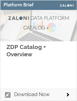 ZDP Catalog + Overview