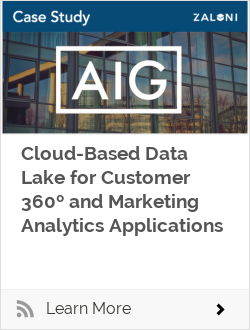 Cloud-Based Data Lake for Customer 360º and Marketing Analytics Applications