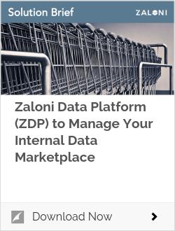 Zaloni Data Platform (ZDP) to Manage Your Internal Data Marketplace