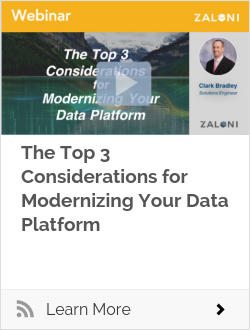 The Top 3 Considerations for Modernizing Your Data Platform