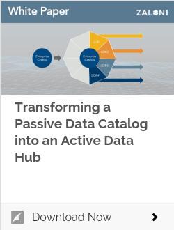 Transforming a Passive Data Catalog into an Active Data Hub