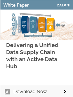 Delivering a Unified Data Supply Chain with an Active Data Hub