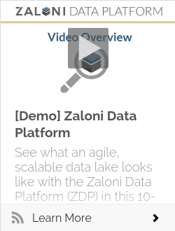 [Demo] Zaloni Data Platform