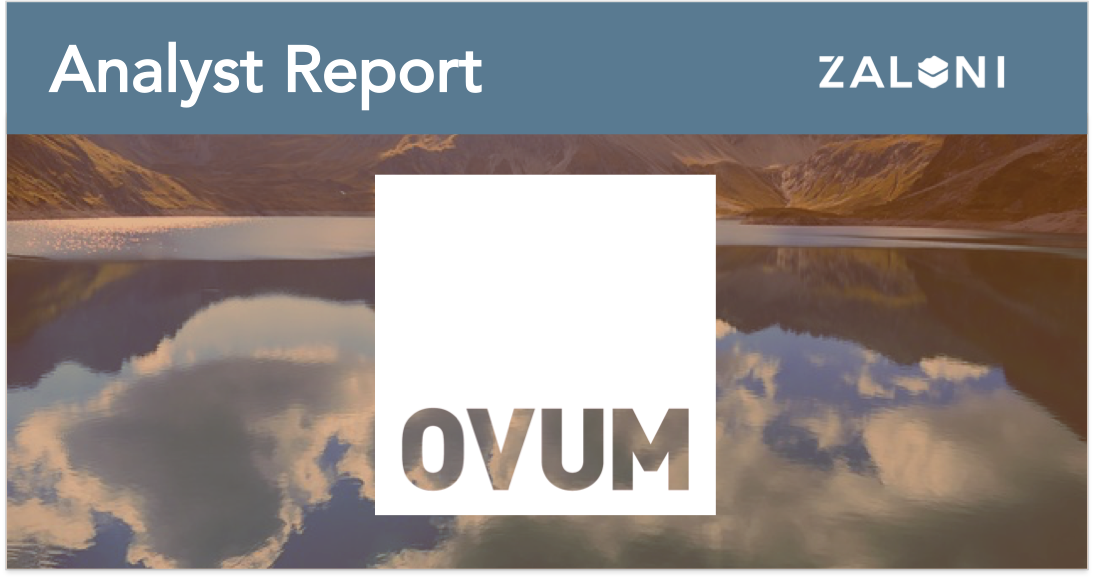 Zaloni On the Radar OVUM Report