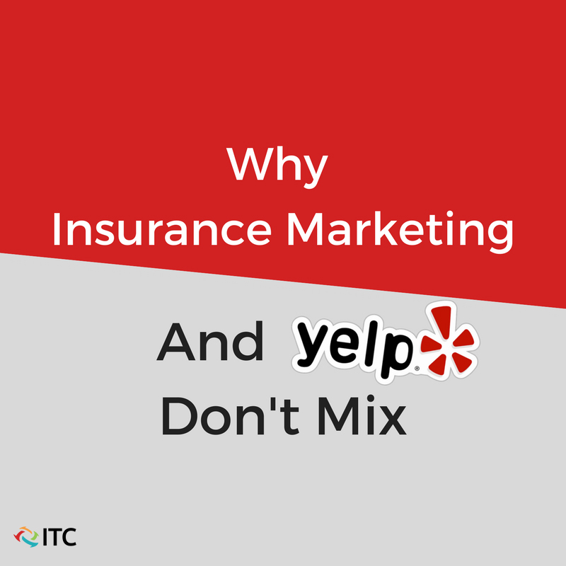 Insurance marketing and agencies don't mix