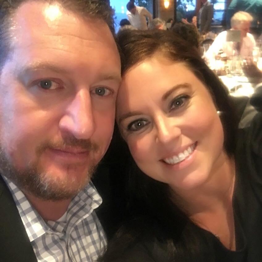 Ashleigh and her husband