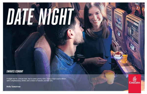 Emirates Date Night Ad