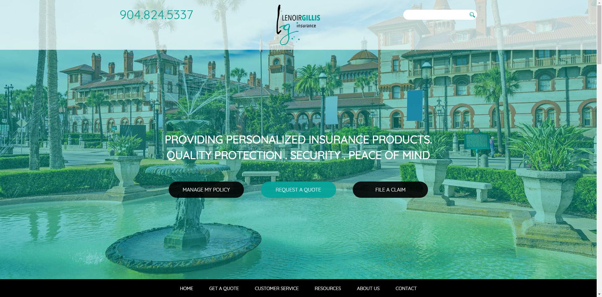 Lenoir Gillis ITC Client Website