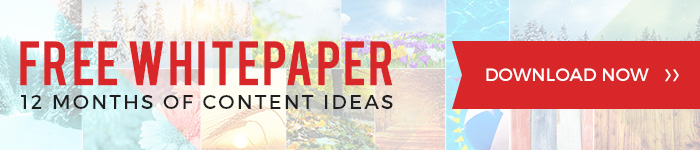 Download free whitepaper with 12 months of content ideas