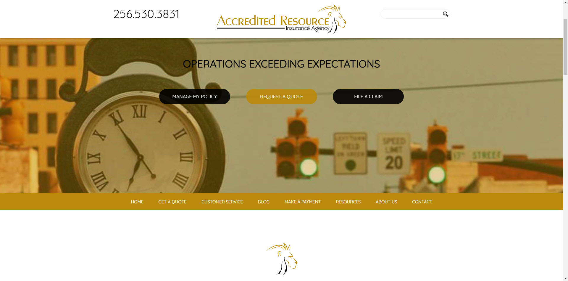 Accredited Resource Insurance Agency screenshot