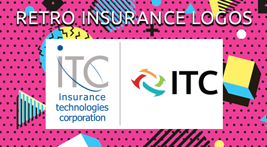 retro insurance logos