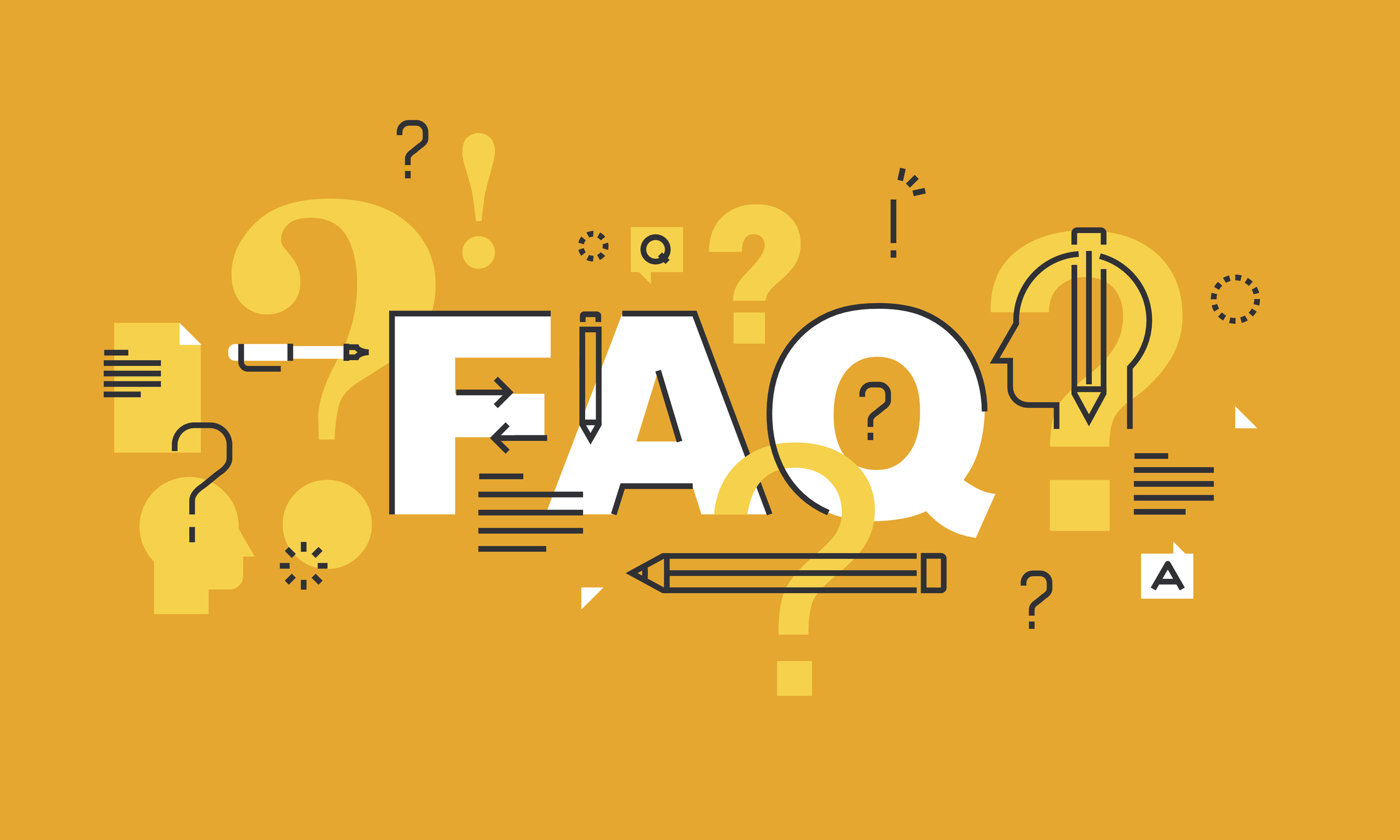 FAQ illustration