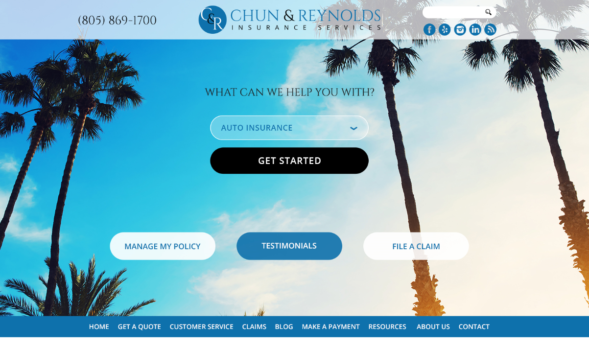 Chun and Reynolds Insurance