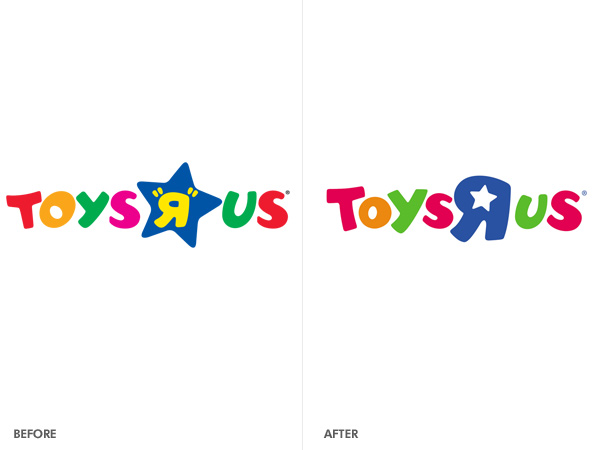 toys r us logo old and new