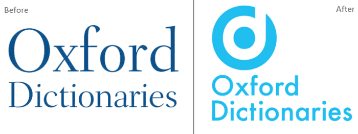 oxford dictionaries logos