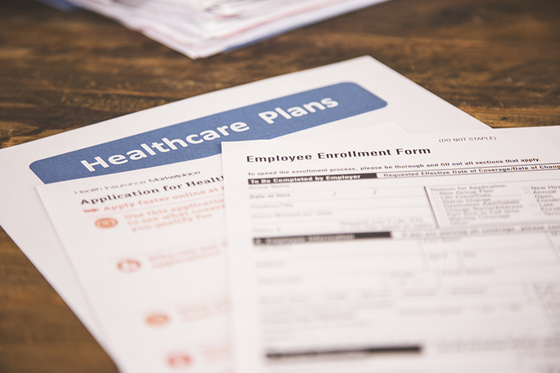 health insurance enrollment forms
