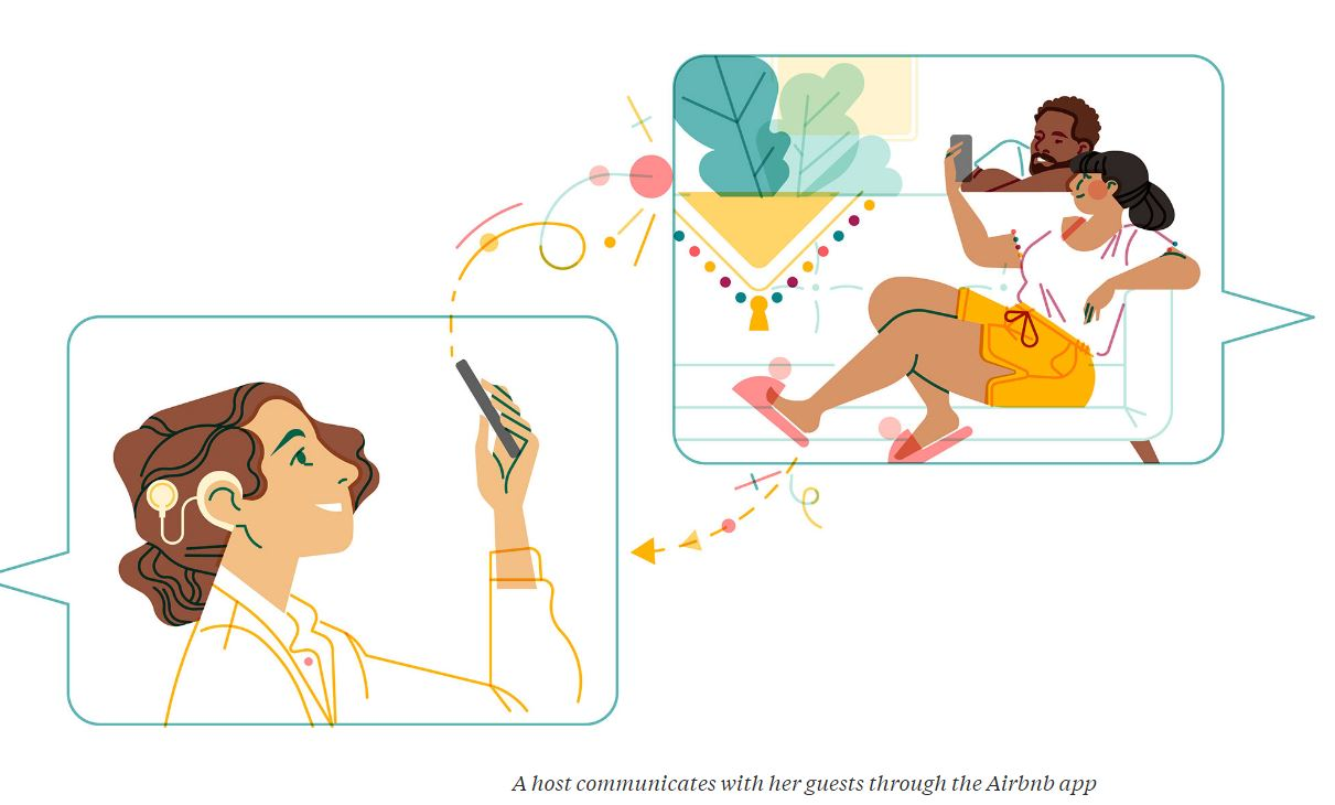 airbnb illustration