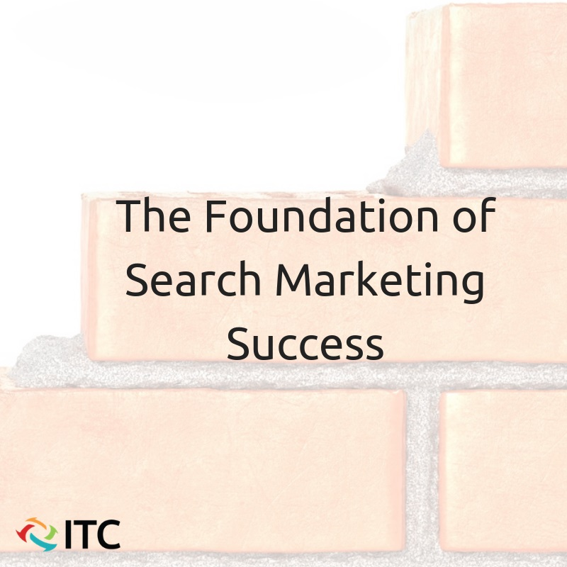 the foundation of search marketing success image