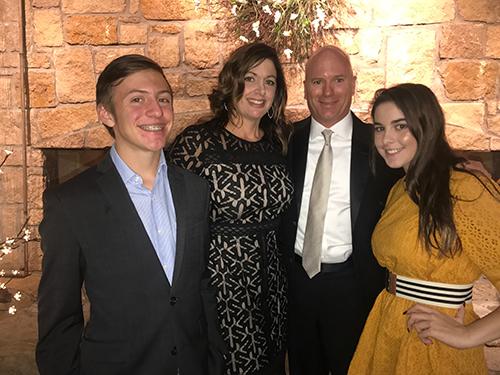 James Brummett family