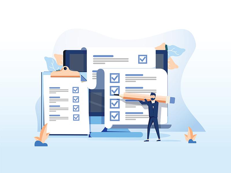 marketing checklist graphic