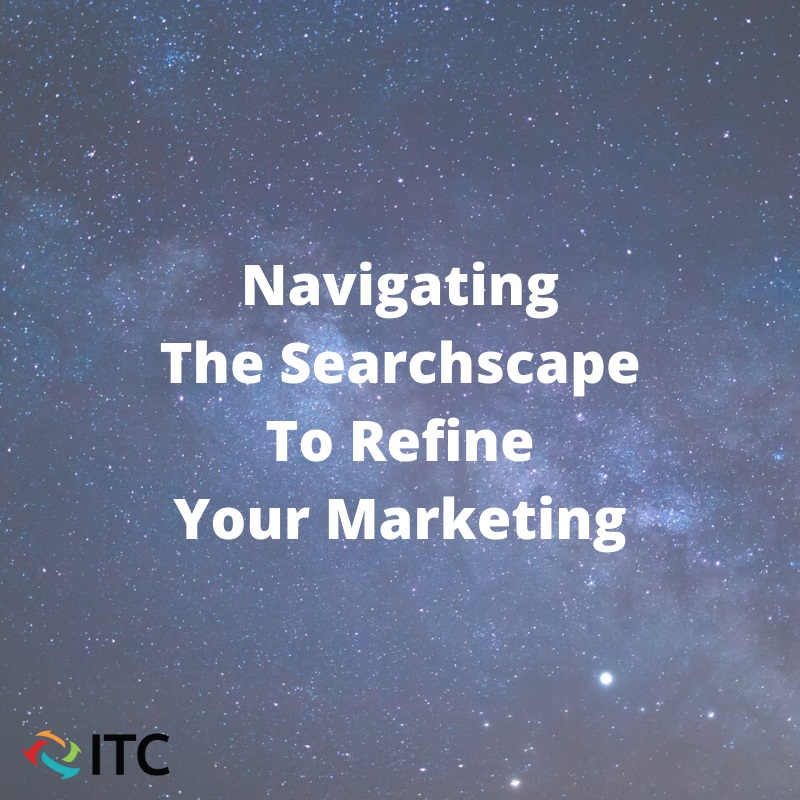 Navigating the searchscape title