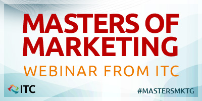 Masters of Marketing webinar from ITC