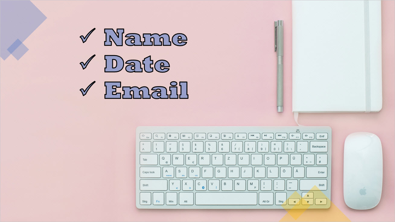 name-date-email-desk