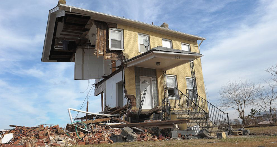 Hurricane Sandy Destruction—Insurance