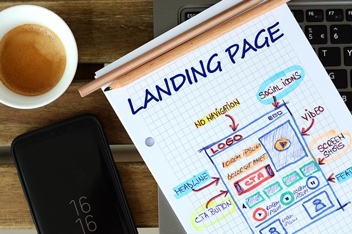 Landing Page header image