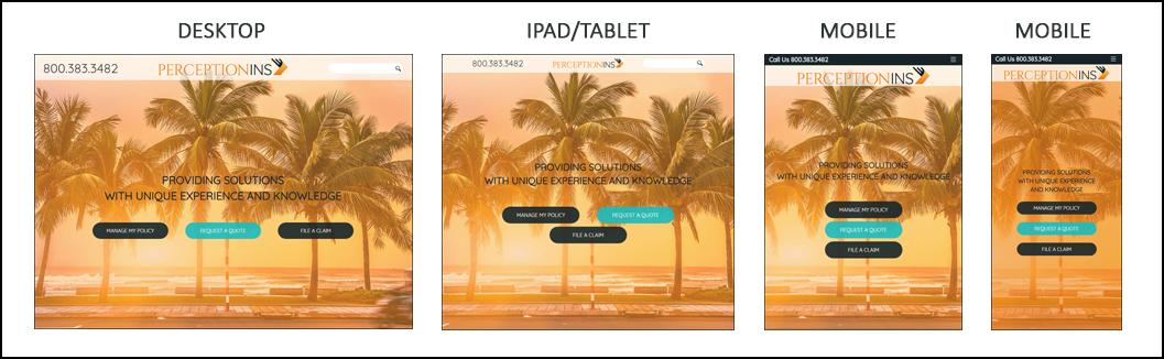 responsive design example