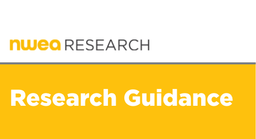 NWEA Guidance on the Interpretation and Use of New Engagement Metrics in MAP Growth Reports