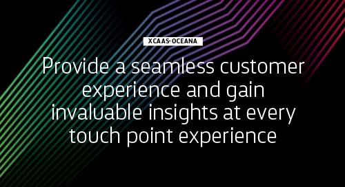 Personalize every touch point with xCaaS-Oceana