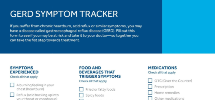 GERD Patient Symptom Tracker