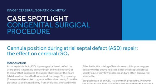 Case Spotlight: Cannula Position During Atrial Septal Defect (ASD) Repair