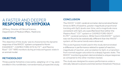 White Paper: A Faster and Deeper Response to Hypoxia