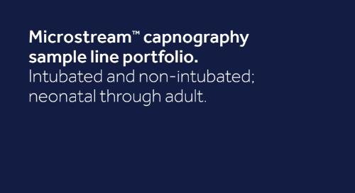 Quick Reference Guide: The Microstream™ Capnography Sample Line Portfolio