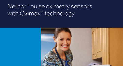 Quick Reference Guide: Nellcor™ Pulse Oximetry Sensors with Oximax™ Technology [Learn More]
