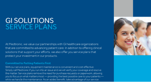 GI Solutions Service Plans Brochure