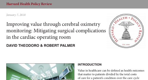 Harvard Health Policy Review: Improving Value through Cerebral Oximetry Monitoring