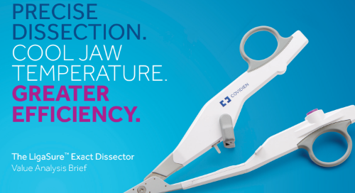 Value Analysis Brief: LigaSure™ Exact Dissector with Nonstick Nano-Coating