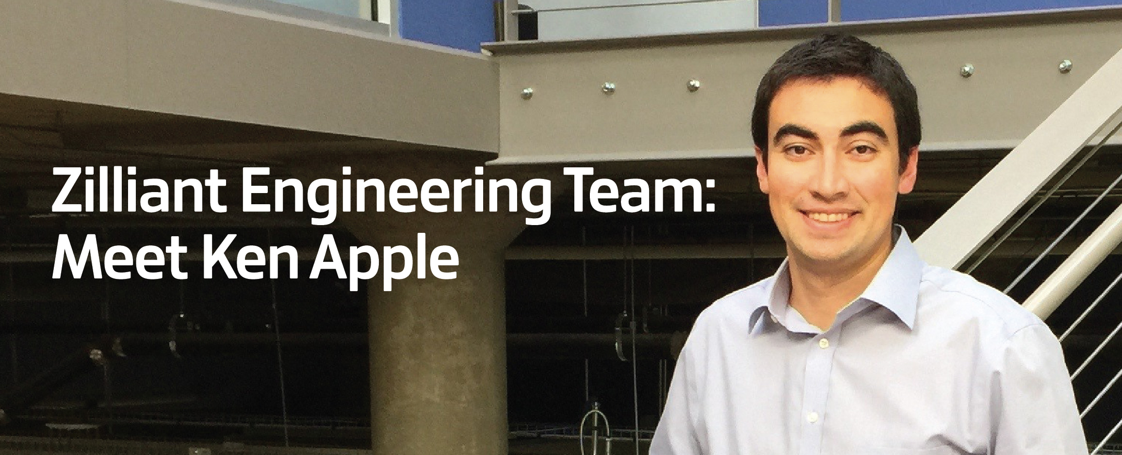 Picture of Zilliant Engineering Team member Ken Apple.