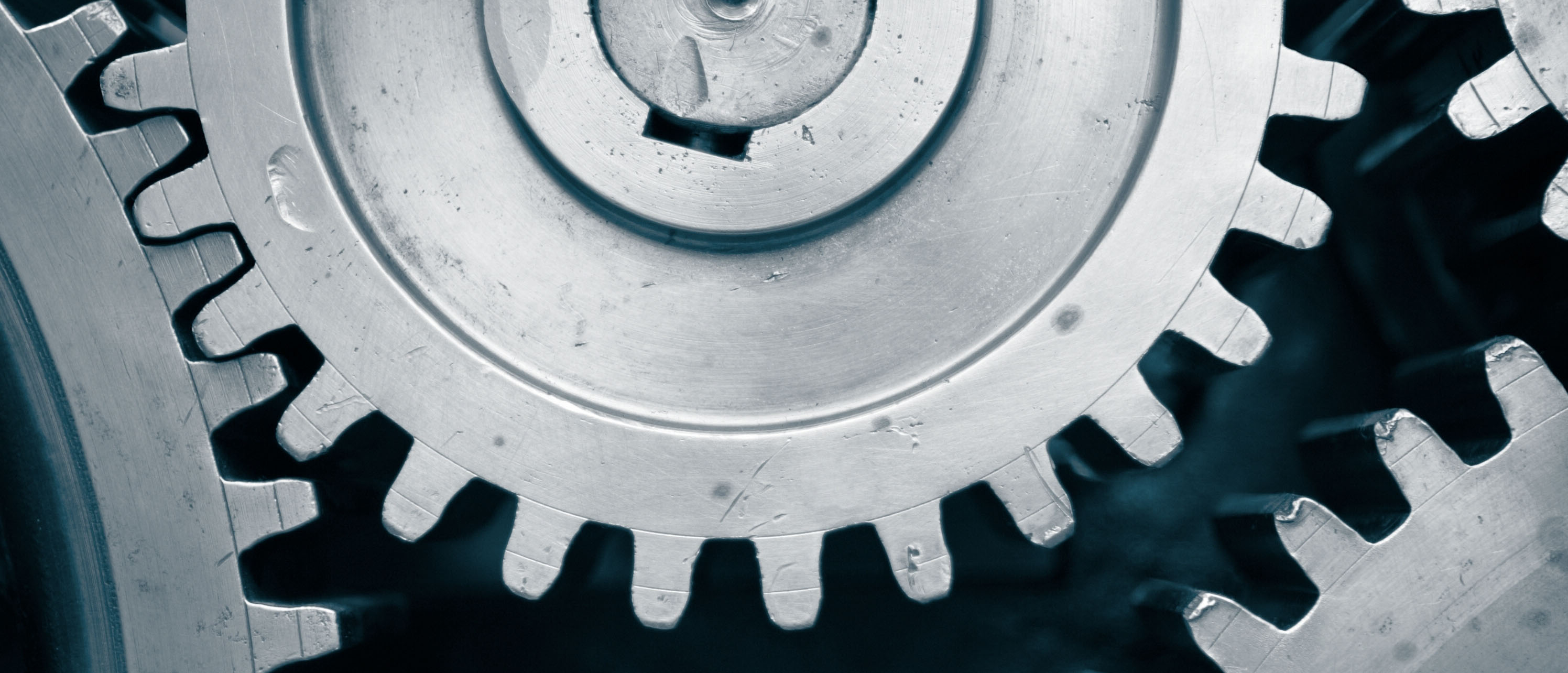 Picture of industrial gears.