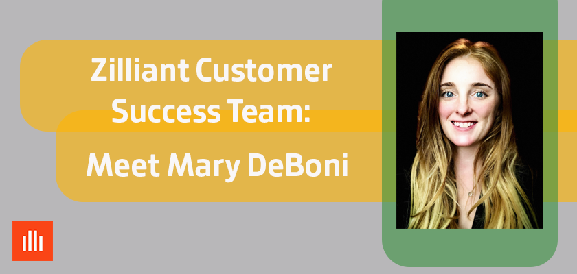 Picture of Mary DeBoni from the Zilliant Customer Success Team.