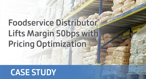 Foodservice Distributor Increases Margin 50bps with Pricing Optimization