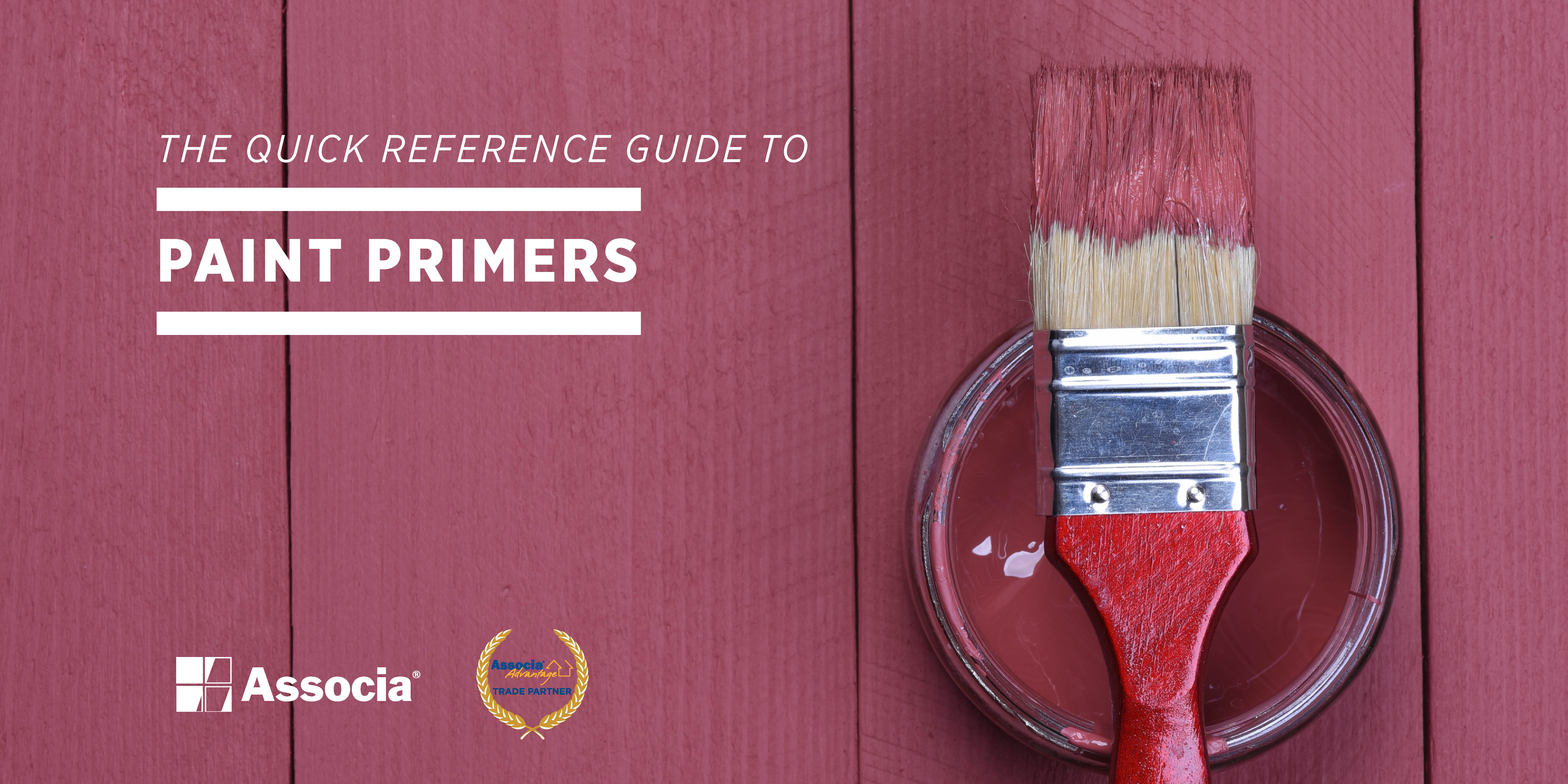 Partner Post: The Quick Reference Guide to Paint Primers   How to ...