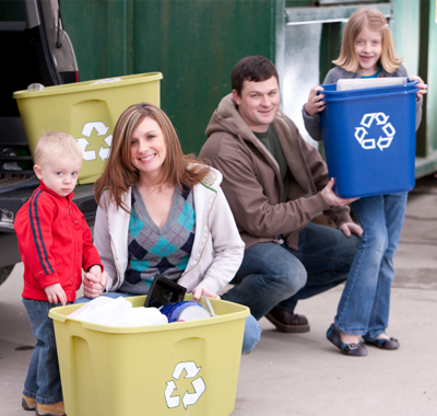 In the spirit of America Recycles Day, help your community go green with a recycling program.